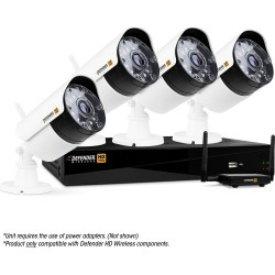 Wireless HD DVR Security System with 4 Cameras