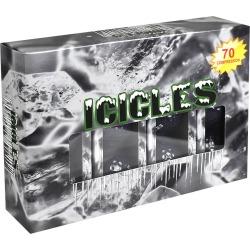 VGolf Icicles Golf Balls Black