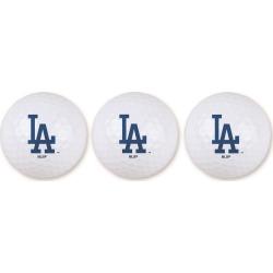 Team Effort Golf MLB 3-Ball Sleeve Los Angeles Dodgers