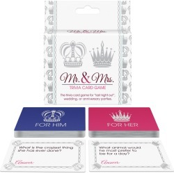 Mr. and Mrs. Trivia Card Game
