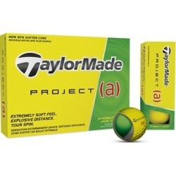 TaylorMade Prior Generation Project (a) Golf Balls Yellow
