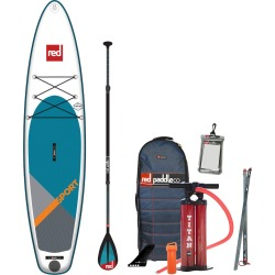 2019 Red Paddle Co. 11'3 SPORT Inflatable SUP with Carbon 50 Nylon 3 Part Paddle found on Bargain Bro Philippines from CleverTraining for $1375.95