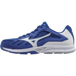 Mizuno- Players Trainer Shoes Royal/White Size 12 M