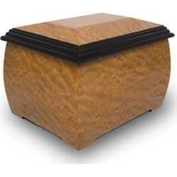 Pommele Treasure Cremation Urn Brown, Urns for Ashes found on Bargain Bro Philippines from OneWorld Memorials for $189.95