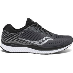 Saucony Men's Guide 13 Running Shoe Black/White 12