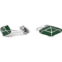 Green Silver William Cufflinks found on MODAPINS from The Rake Media Ltd for USD $755.46