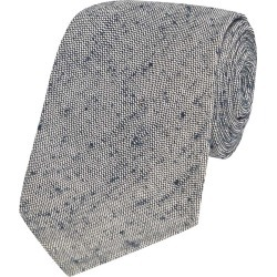 Grey Marl Silk Tie found on MODAPINS from The Rake Media Ltd for USD $79.57