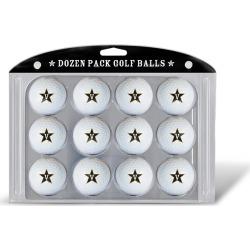 12 Pack Golf Balls Vanderbilt
