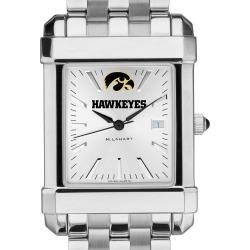 University of Iowa Men's Collegiate Watch w/ Bracelet by M.LaHart & Co.