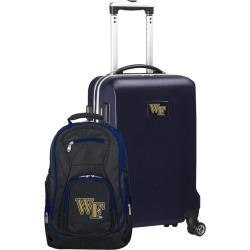 Wake Forest Demon Deacons Deluxe 2-Piece Backpack and Carry on Set