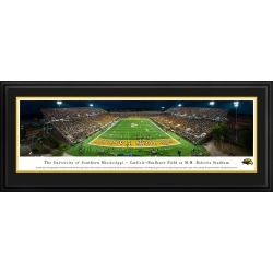 Southern Mississippi Golden Eagles Football - Panoramic Print