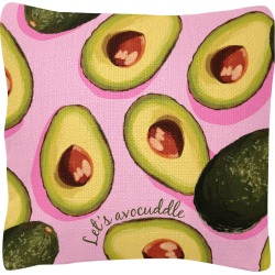WIT! SQUARE PILLOWS AVOCADO