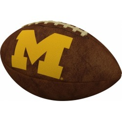 Michigan Official-Size Vintage Football