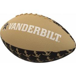 Vanderbilt Repeating Mini-Size Rubber Football