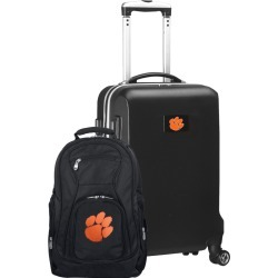 Clemson Tigers Deluxe 2-Piece Backpack and Carry on Set