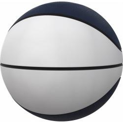 Plain Navy Full-Size Autograph Basketball