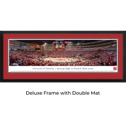 Nebraska Cornhuskers Basketball - Panoramic Print