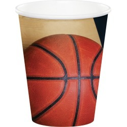 Basketball Cups - 24 Count
