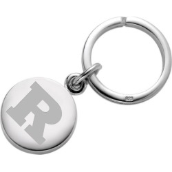 Rutgers University Sterling Silver Insignia Key Ring by M.LaHart & Co.