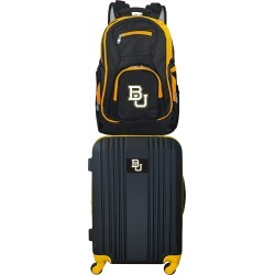 NCAA Baylor Bears 2 Piece Set Luggage and Backpack by Mojo Licensing