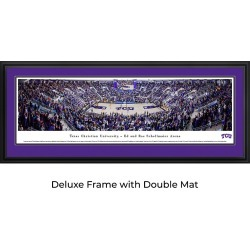 TCU Horned Frogs Basketball - Panoramic Print