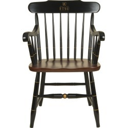 East Tennessee State University Captain's Chair by Hitchcock by M.LaHart & Co. found on Bargain Bro India from balfour for $650.00