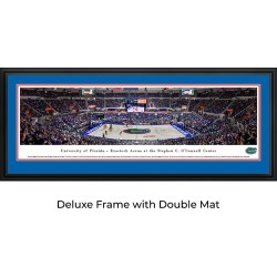 Florida Gator Basketball - Panoramic Print