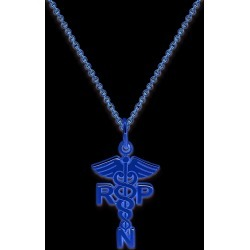 14 Karat Registered Nurse Practitioner Charm