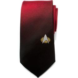 Star Trek TNG Shield Red Ombre Men's Tie