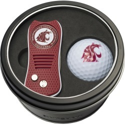 Tin Gift Set with Switchfix Divot Tool and Golf Ball Washington State Cougars found on Bargain Bro Philippines from balfour for $31.25
