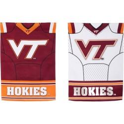 Virginia Tech Flag DS Suede Foil Gar Jersey