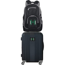 NCAA Hawaii Warriors 2 Piece Set Luggage and Backpack by Mojo Licensing