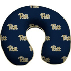 NCAA Memory Foam Travel Pillow University Of Pittsburgh