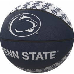 Penn State Repeating Logo Mini-Size Rubber Basketball