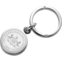 Penn State Sterling Silver Insignia Key Ring by M.LaHart & Co.