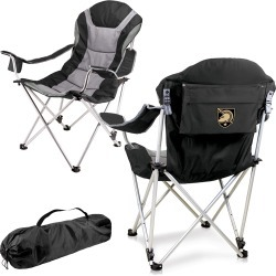 West Point Black Knights - Reclining Camp Chair (Black)