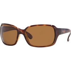 Polarized RB4068 Sunglasses - Tortoise & Brown by Ray-Ban