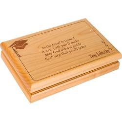 Wooden Graduation Valet Box