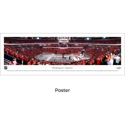 Washington Capitals Hockey - Banner Raising - Unframed Panoramic Poster