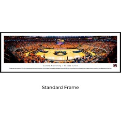 Auburn Tigers Basketball - Standard Framed Panoramic Print