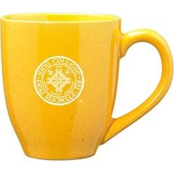 Iona College - 16-ounce Ceramic Coffee Mug - Gold