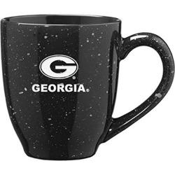 University of Georgia - 16-ounce Ceramic Coffee Mug - Black