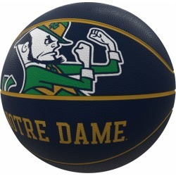 Notre Dame Mascot Official-Size Rubber Basketball