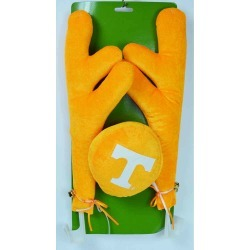 Tennessee 16.5 Fabric and Plastic Car Antler Set