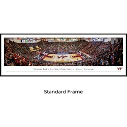 Virginia Tech Hokies Basketball - Standard Framed Panoramic Print