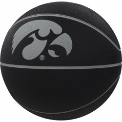 Iowa Blackout Full-Size Composite Basketball