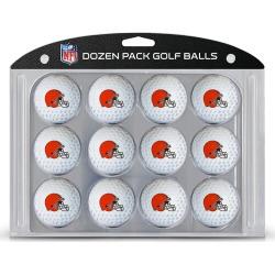 12 Pack Golf Balls Cleveland Browns