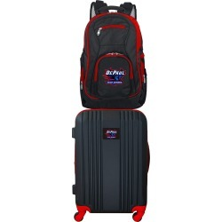 NCAA Depaul 2 Piece Set Luggage and Backpack by Mojo Licensing