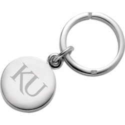 University of Kansas Sterling Silver Insignia Key Ring by M.LaHart & Co.