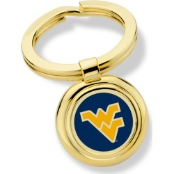 West Virginia University Enamel Key Ring by M.LaHart & Co.